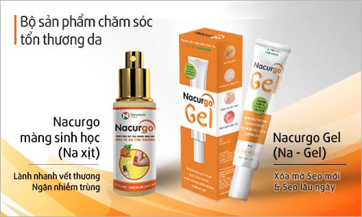 Kết hợp Nacurgo và Nacurgo gel cho mụn và thâm sẹo do mụn được không?