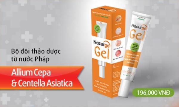 Thành tựu y học Nacurgo Gel hỗ trợ làm mờ sẹo hiệu quả cao và an toàn.