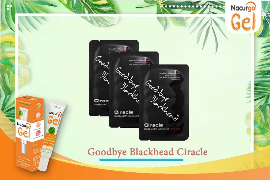 Miếng dán Goodbye Blackhead Ciracle trị mụn đầu đen hiệu quả