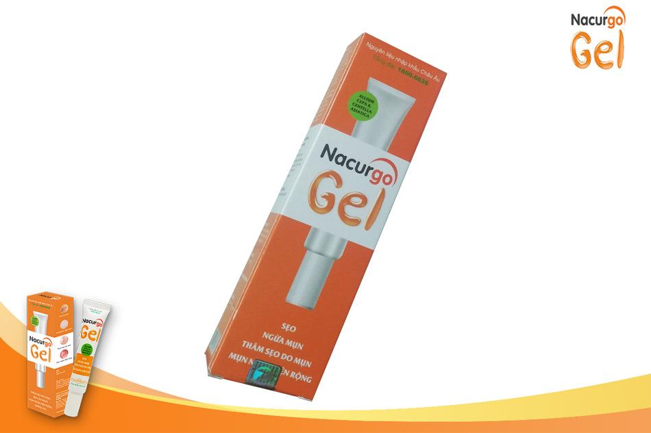 Nacurgo gel - trị mụn trứng cá trên má
