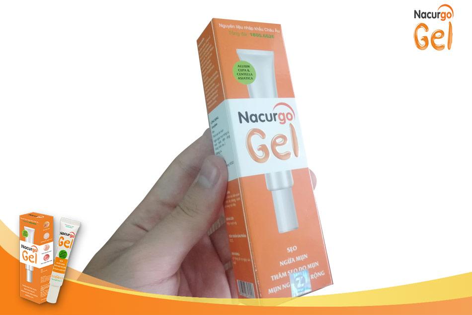 Có Nacurgo Gel -mụn viêm không còn là nỗi lo