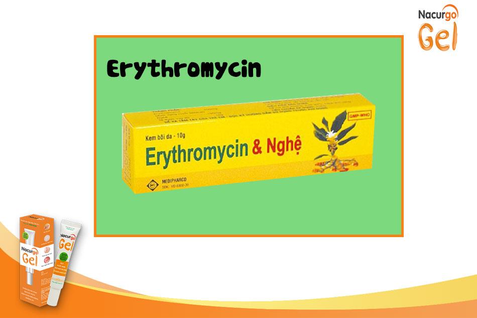 Erythromycin bôi ngoài