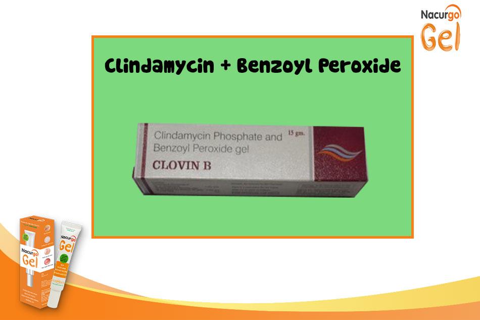Kết hợp điều trị clindamycin và Benzoyl Peroxide