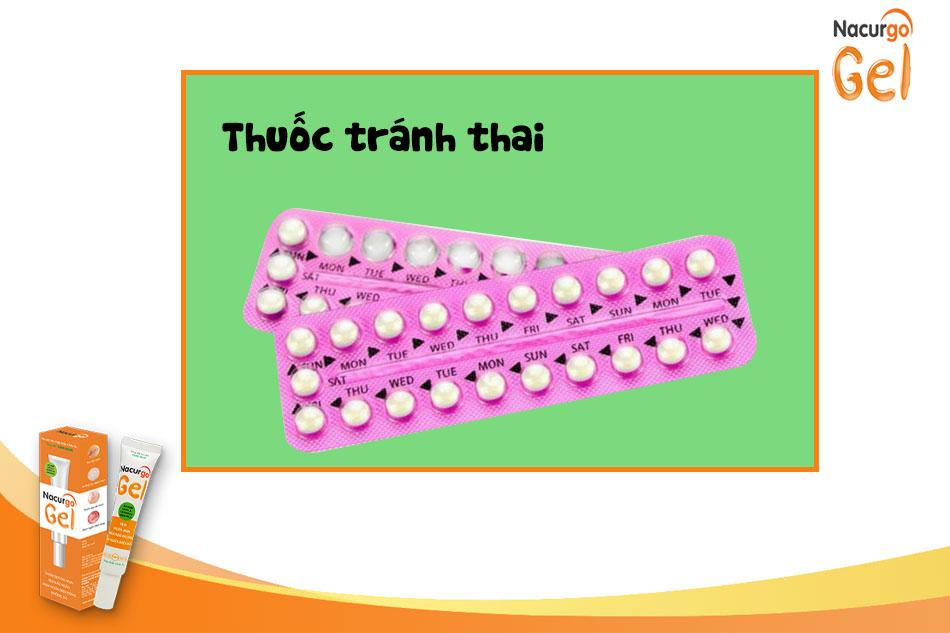 Thuốc tránh thai trị mụn trứng cá