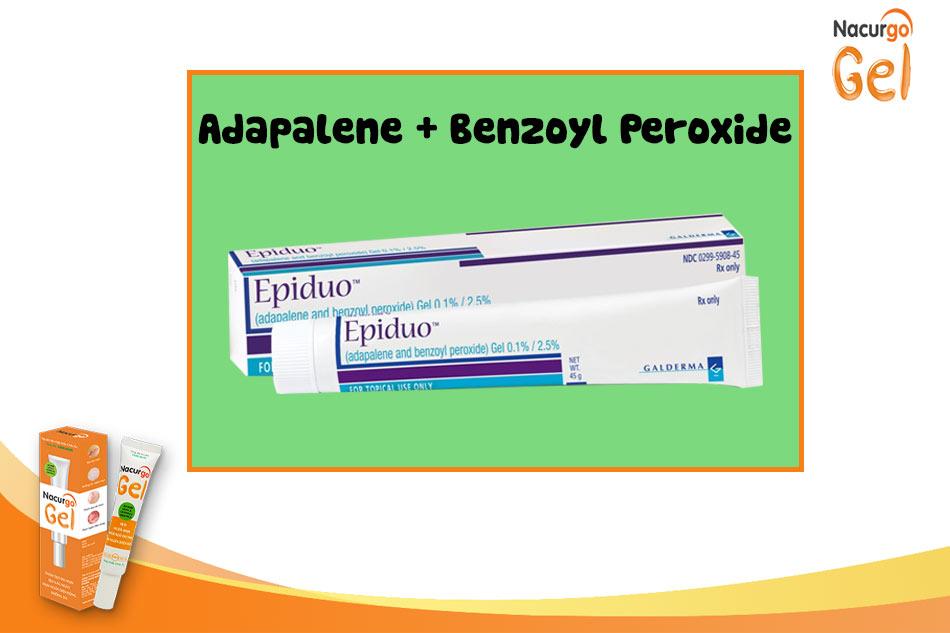 Kết hợp Adapalene và Benzoyl Peroxide