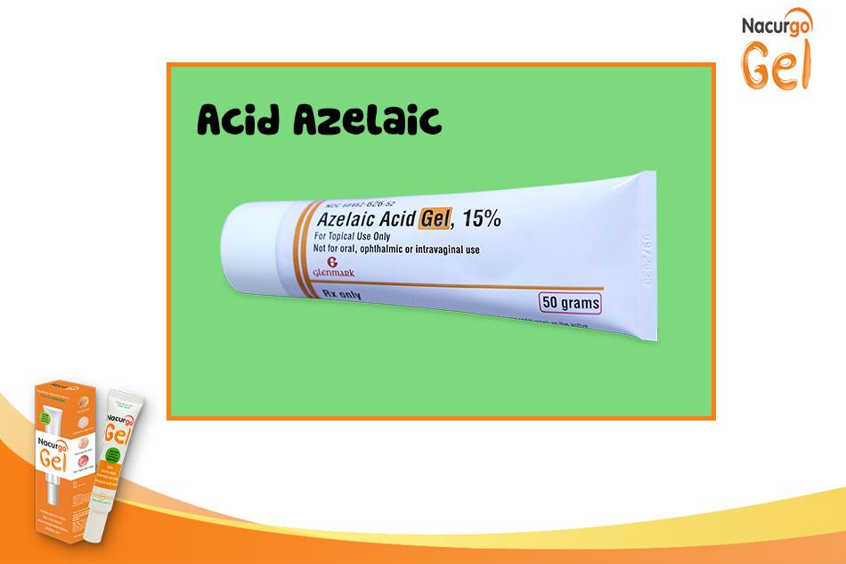 Thuốc bôi trị mụn trứng cá từ nhẹ đến trung bình: Acid azelaic