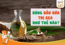 Cách dùng dầu dừa trị sẹo