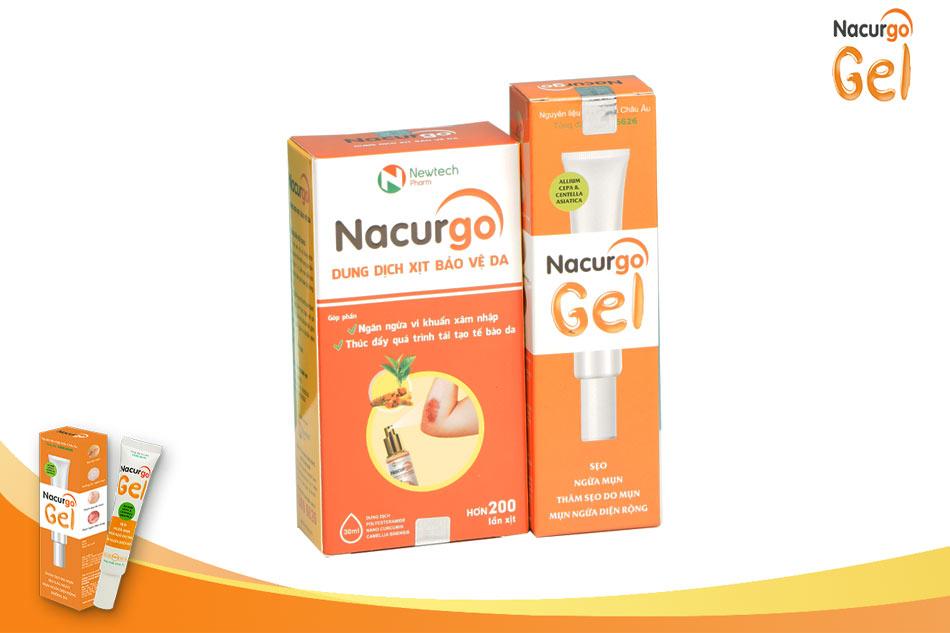 Bộ sản phẩm Nacurgo Gel