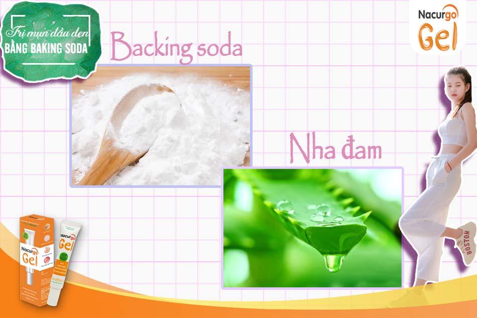 Backing Soda và Nha đam là hai nguyên liệu thường xuyên được nhiều chị em sử dụng