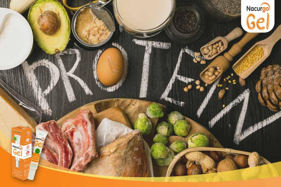 Chế độ ăn giàu Protein sẽ giúp liền sẹo nhanh