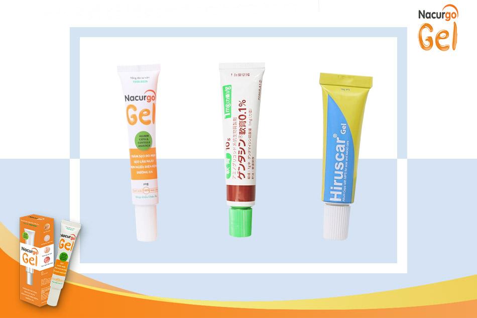Một số loại kem trị sẹo lõm hiệu quả