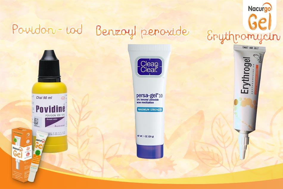 Một số sản phẩm trị viêm nang lông