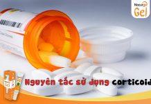 Nguyên tắc khi sử dụng corticoid
