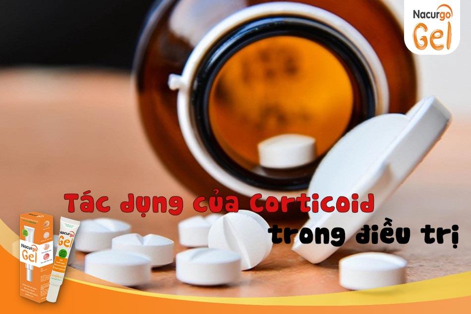 Tác dụng của Corticoid trong điều trị