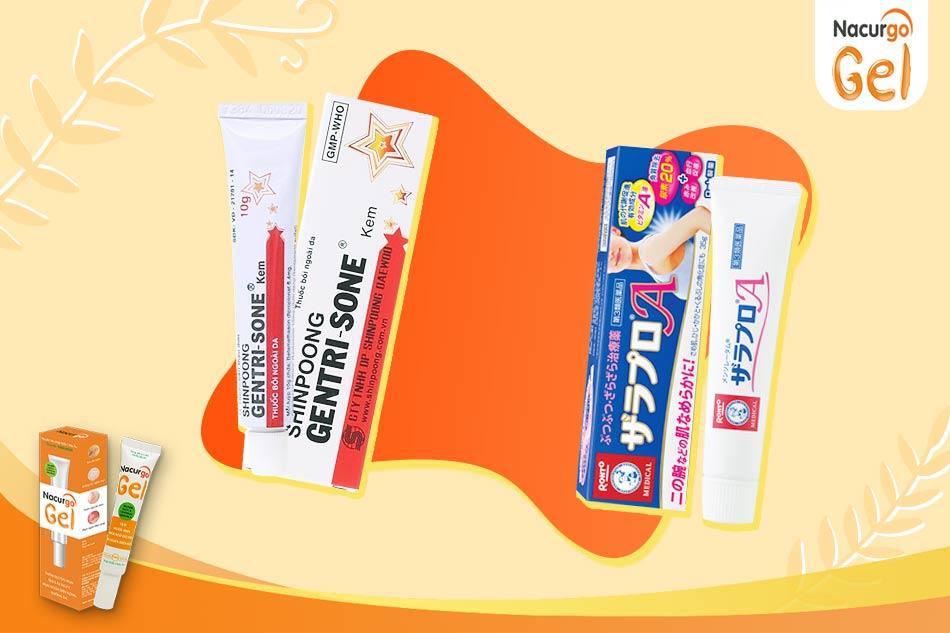 Một số loại sản phẩm trị viêm nang lông hiệu quả nhất hiện nay